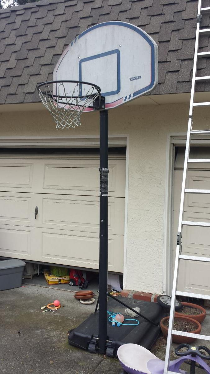 Taken: Claimed - Basketball Hoop