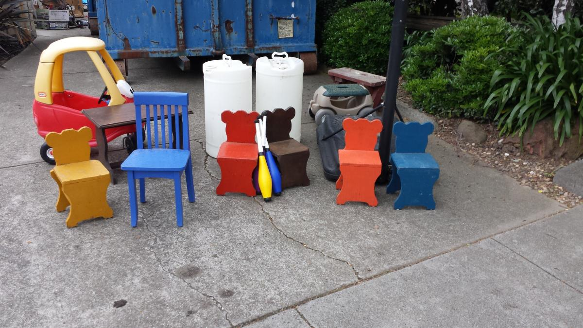 Taken: Misc Small Chairs and Tables